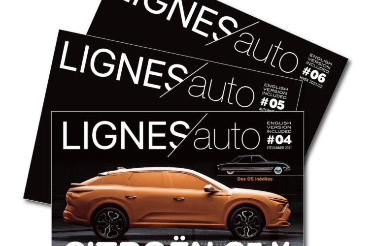 ABONNEZ-VOUS pour les 3 prochains numéros de LIGNES/auto ! FRANCE MÉTROPOLITAINE